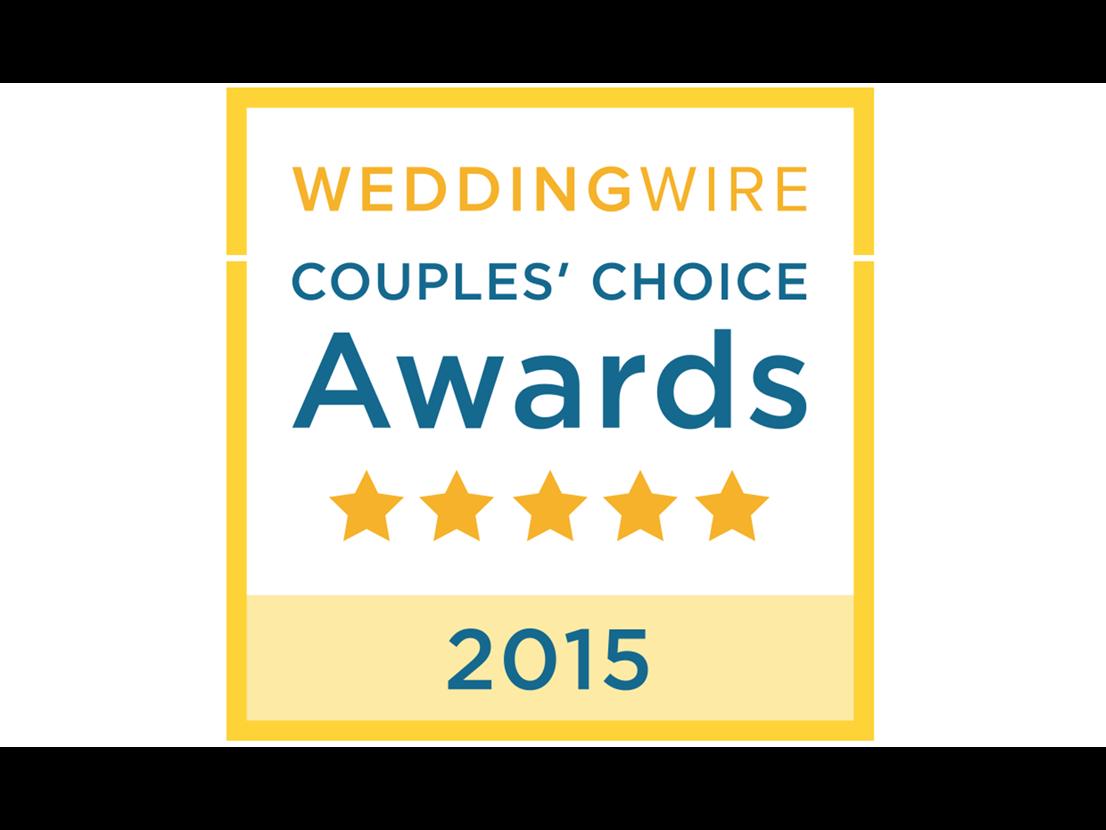 Wedding Wire Couple's Choice Award 2015 9