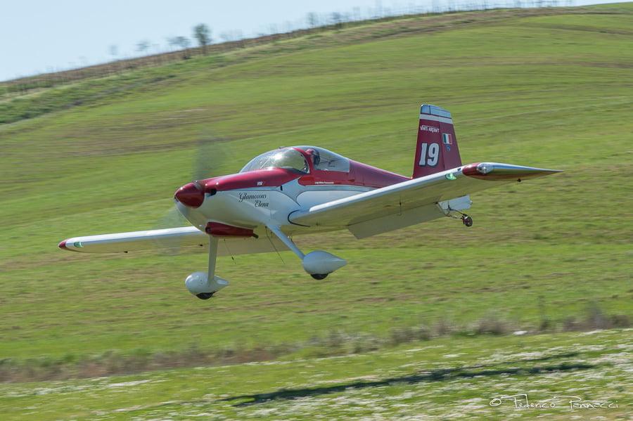 VAN'S RV6 landing