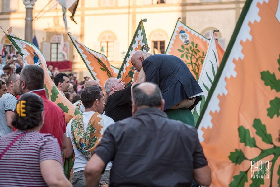 , Palio Agosto 2015 con Giubilo della Selva, Federico Pannacci, Federico Pannacci
