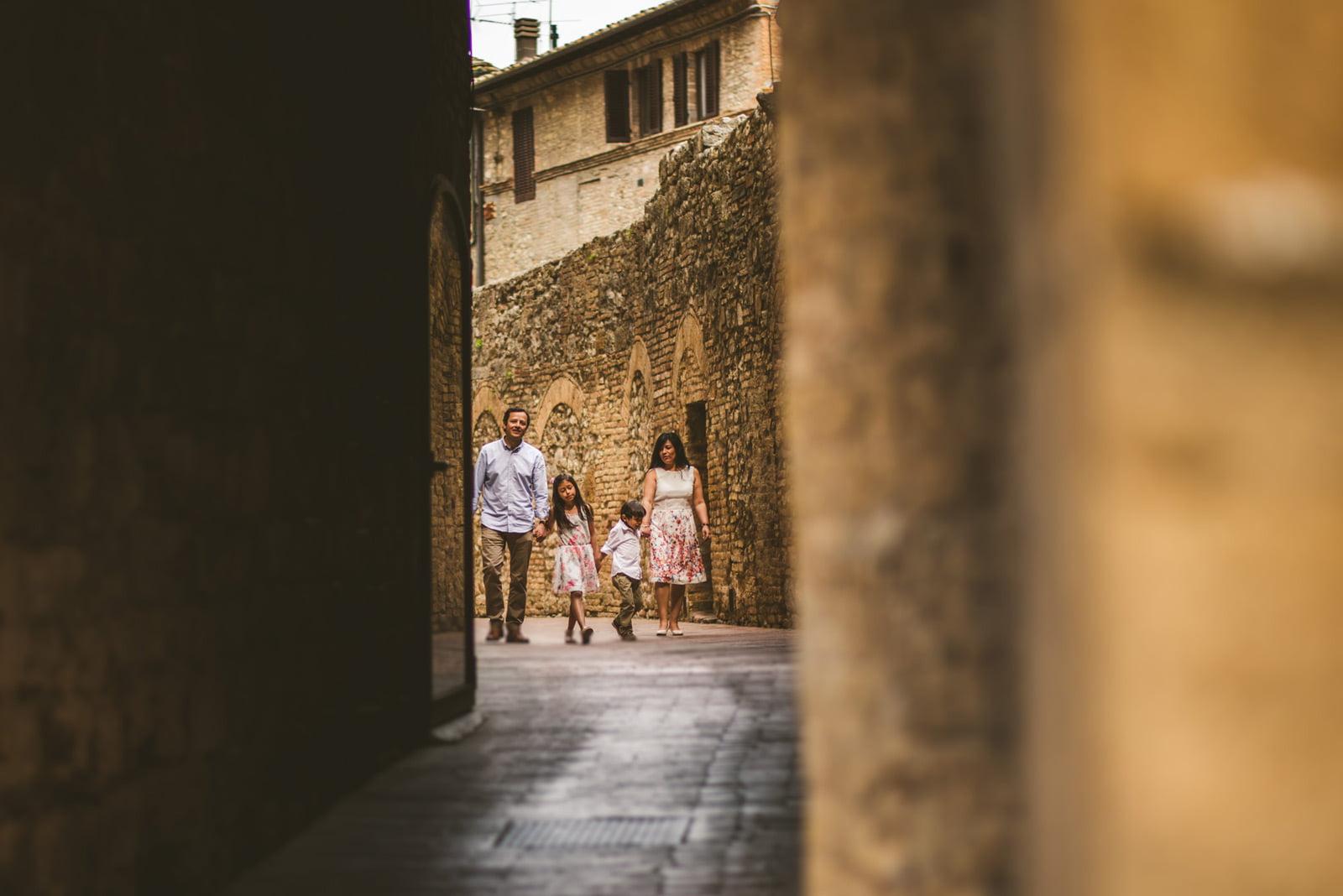 San Gimignano, Family Portrait San Gimignano, Federico Pannacci