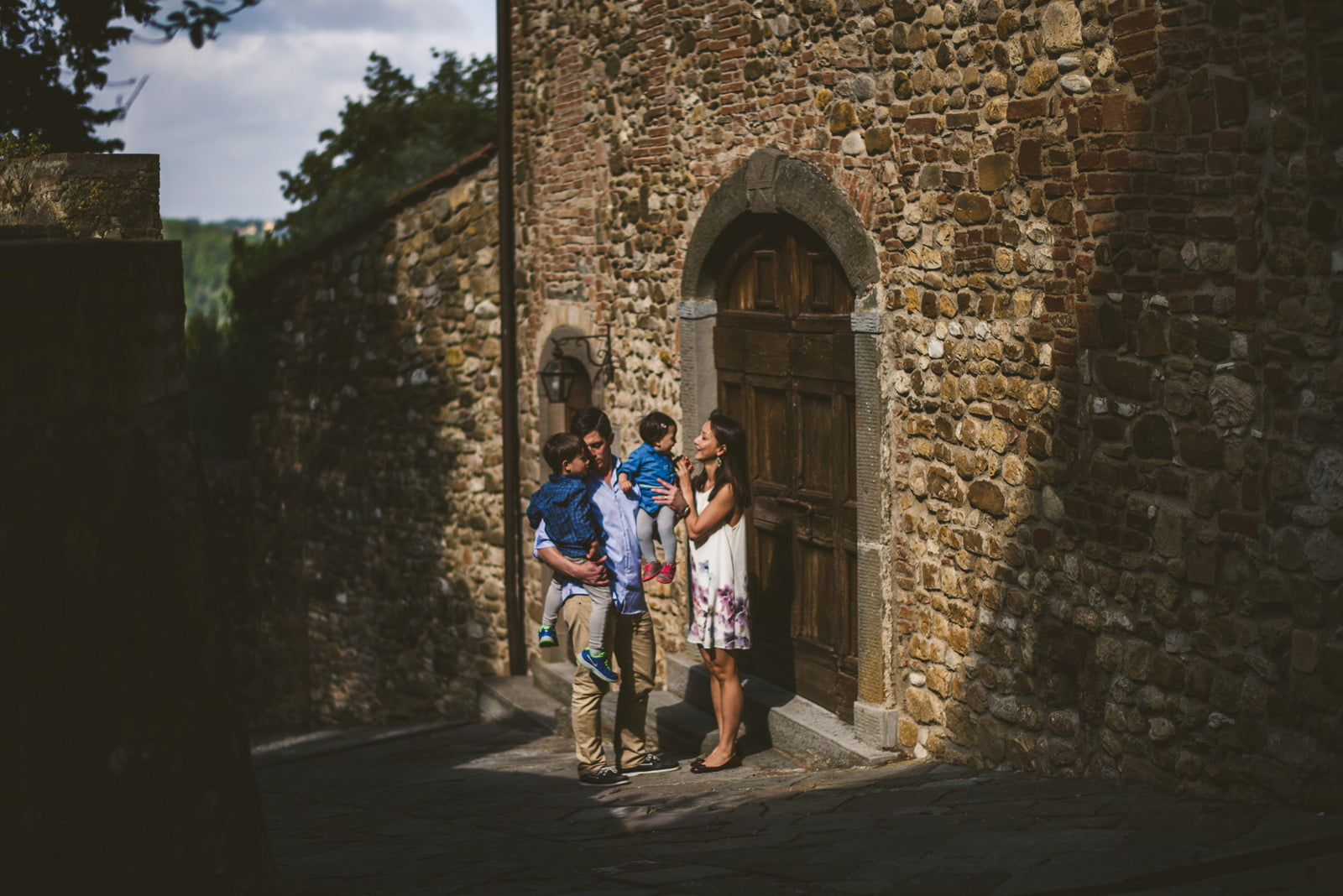 Castello di Bibbione, Family Portrait in Castello di Bibbione, Federico Pannacci, Federico Pannacci