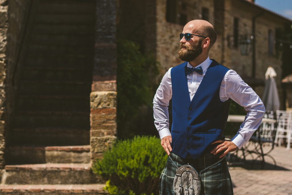 The Scottish Wedding in San Galgano Abbey - Federico Pannacci 7
