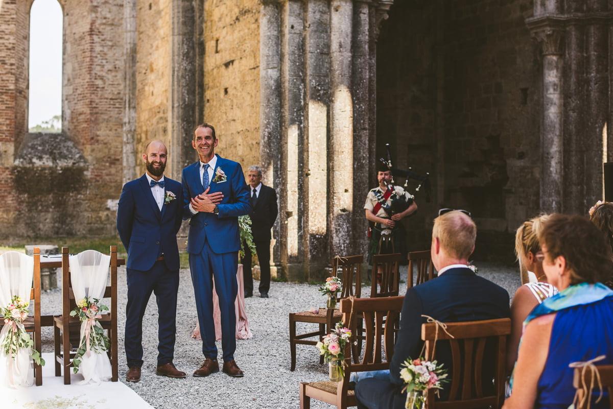 The Scottish Wedding in San Galgano Abbey - Federico Pannacci 18