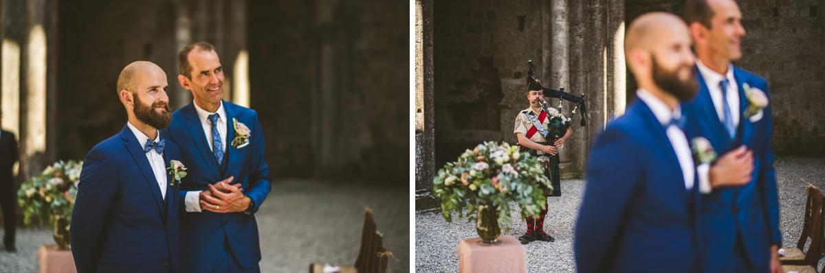 The Scottish Wedding in San Galgano Abbey - Federico Pannacci 19
