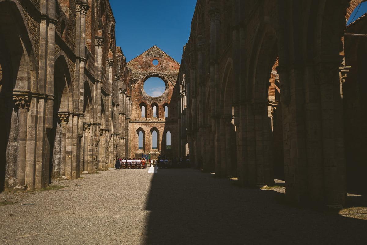 The Scottish Wedding in San Galgano Abbey - Federico Pannacci 20