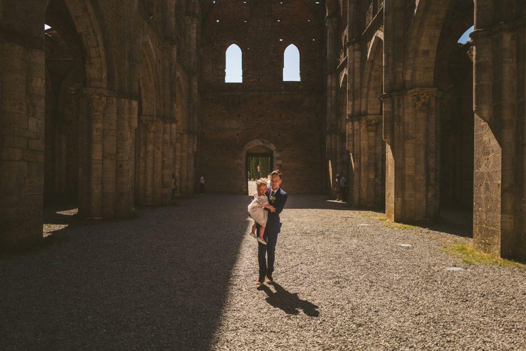 The Scottish Wedding in San Galgano Abbey - Federico Pannacci 23