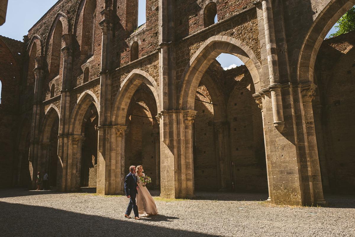 The Scottish Wedding in San Galgano Abbey - Federico Pannacci 24