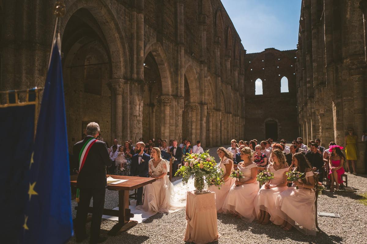 The Scottish Wedding in San Galgano Abbey - Federico Pannacci 25