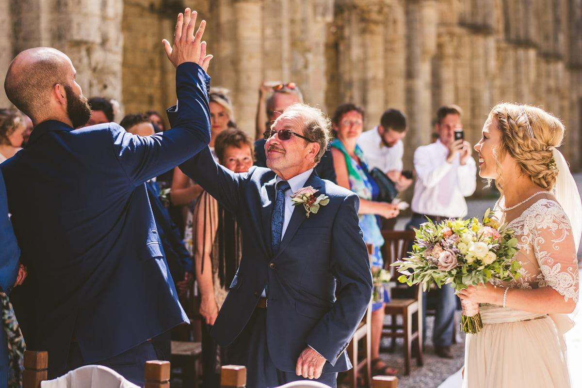 The Scottish Wedding in San Galgano Abbey - Federico Pannacci 27