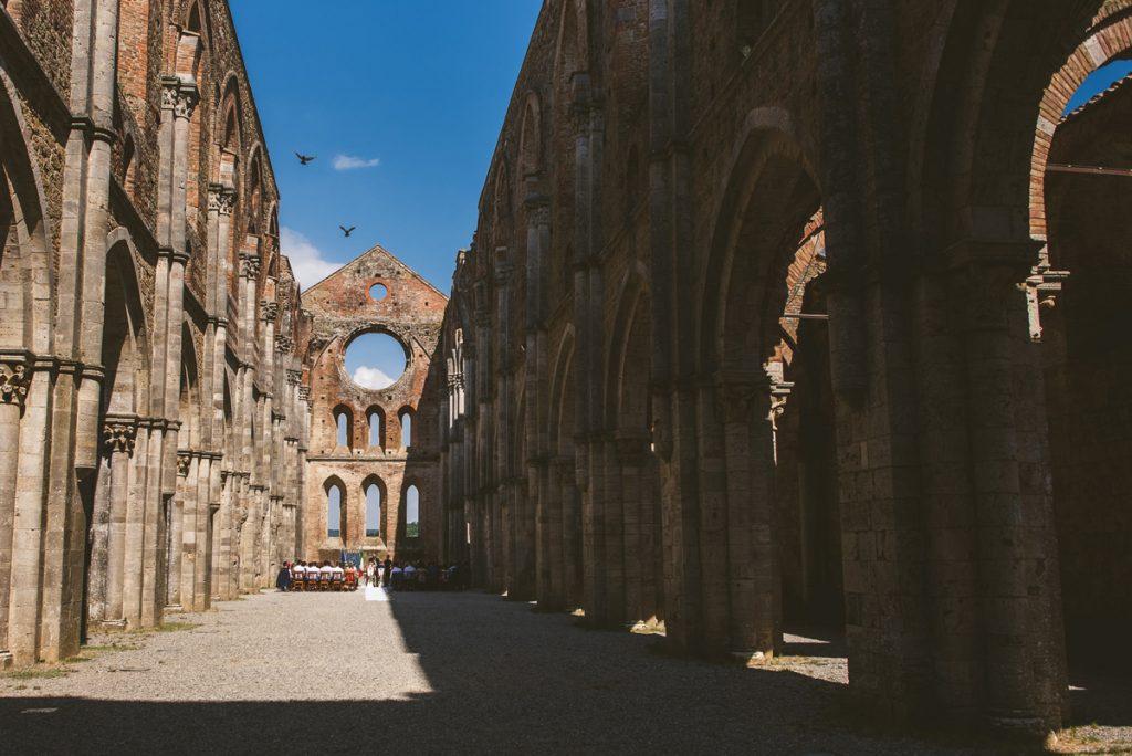 The Scottish Wedding in San Galgano Abbey - Federico Pannacci 29