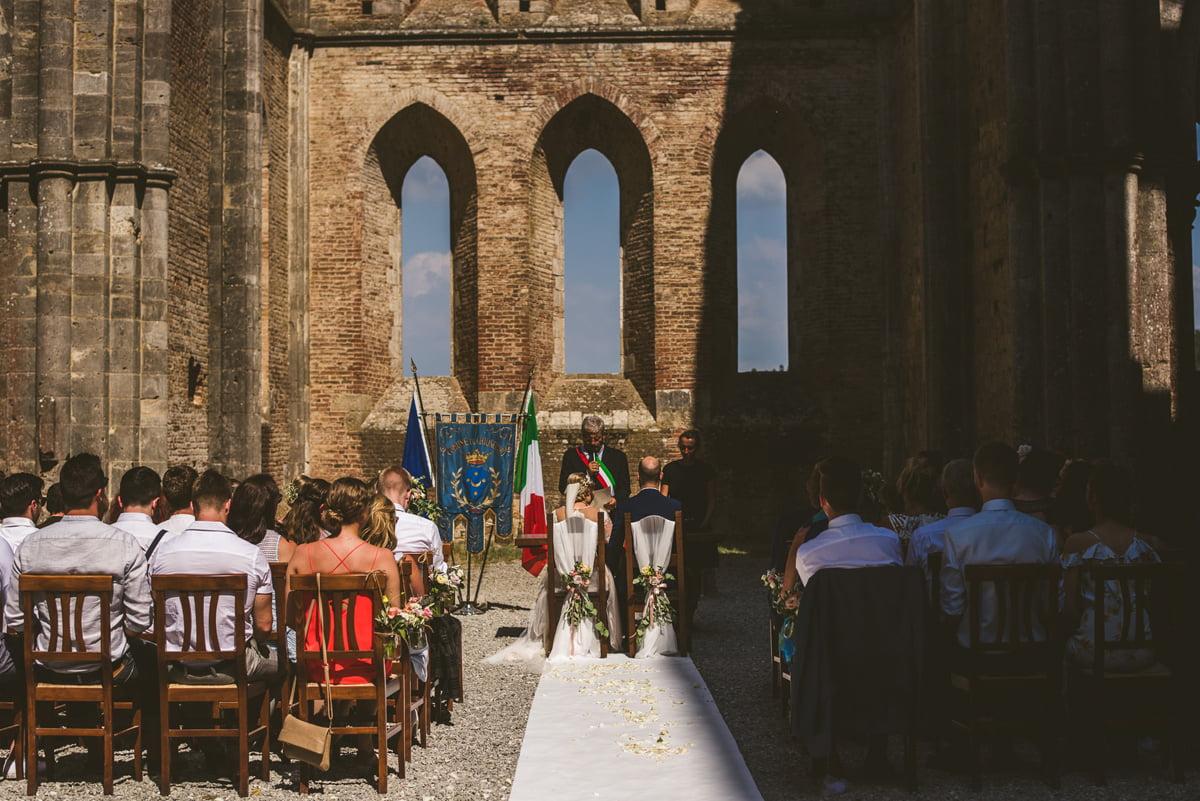 The Scottish Wedding in San Galgano Abbey - Federico Pannacci 31