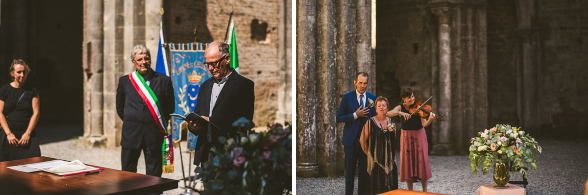 The Scottish Wedding in San Galgano Abbey - Federico Pannacci 33
