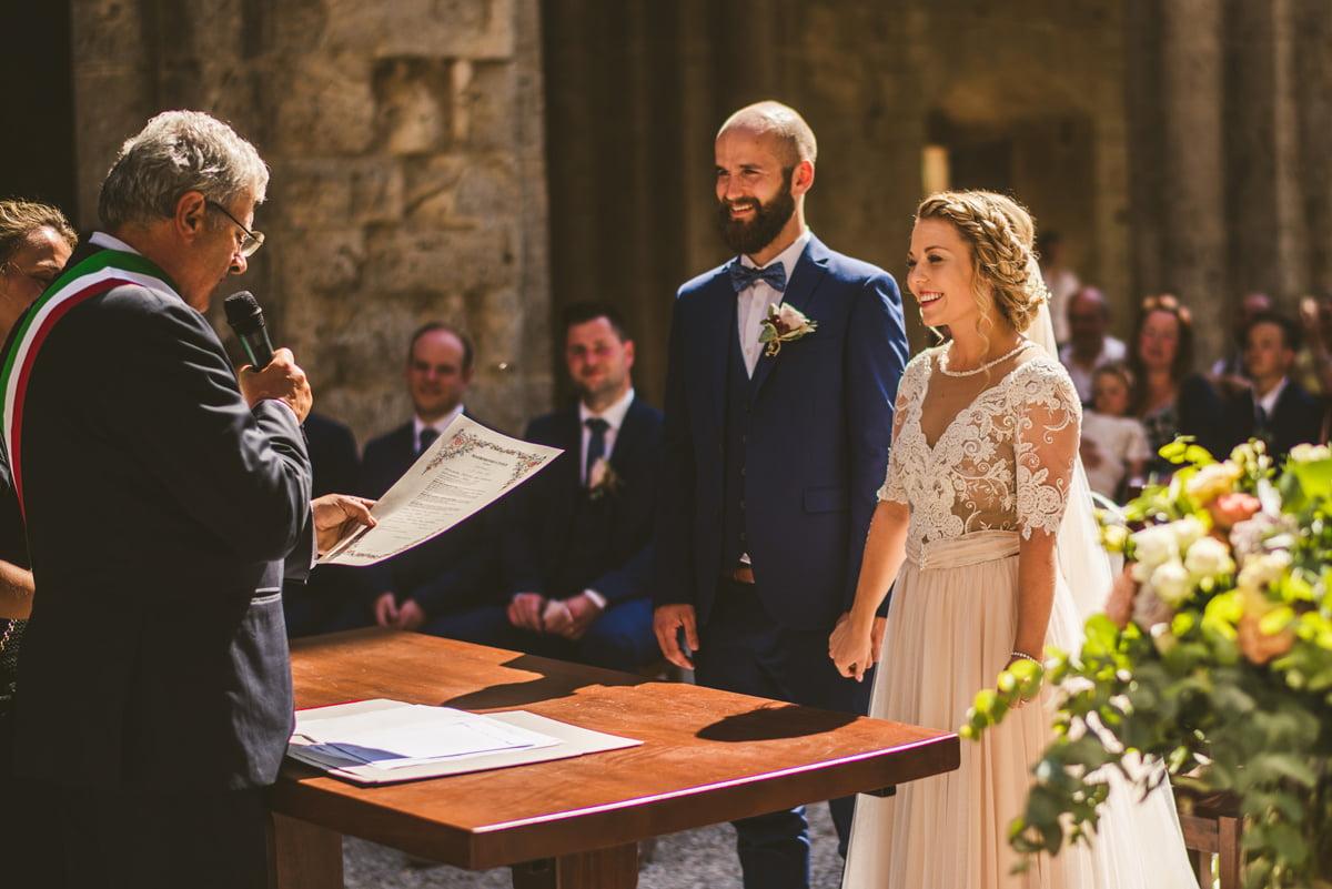 The Scottish Wedding in San Galgano Abbey - Federico Pannacci 34