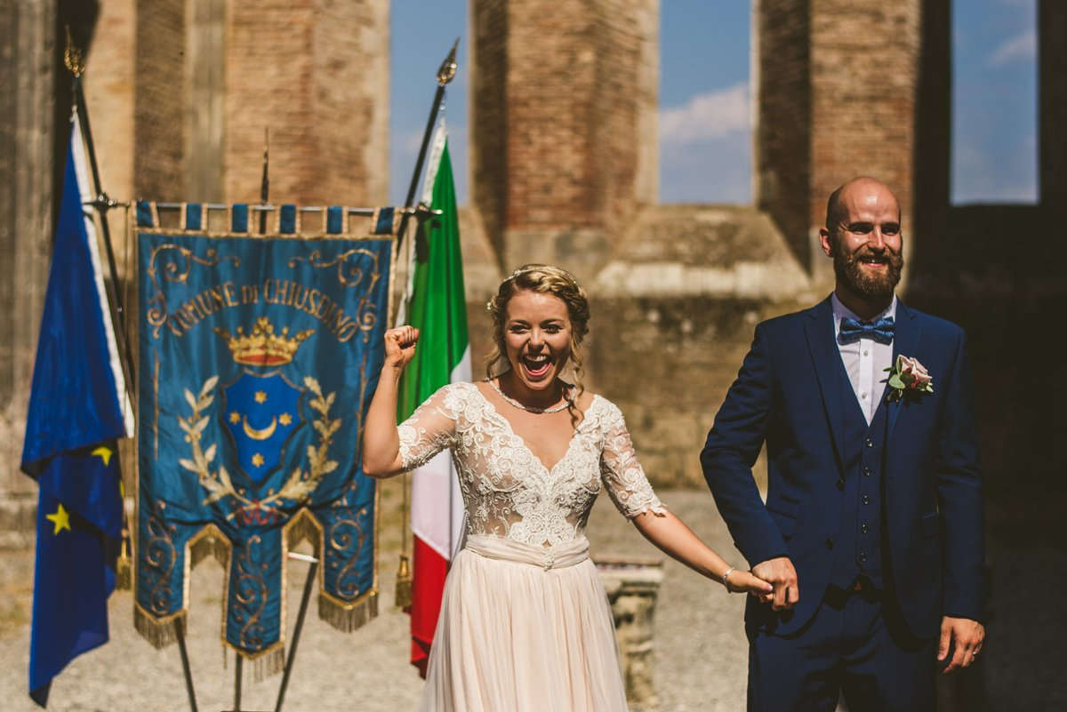 The Scottish Wedding in San Galgano Abbey - Federico Pannacci 38