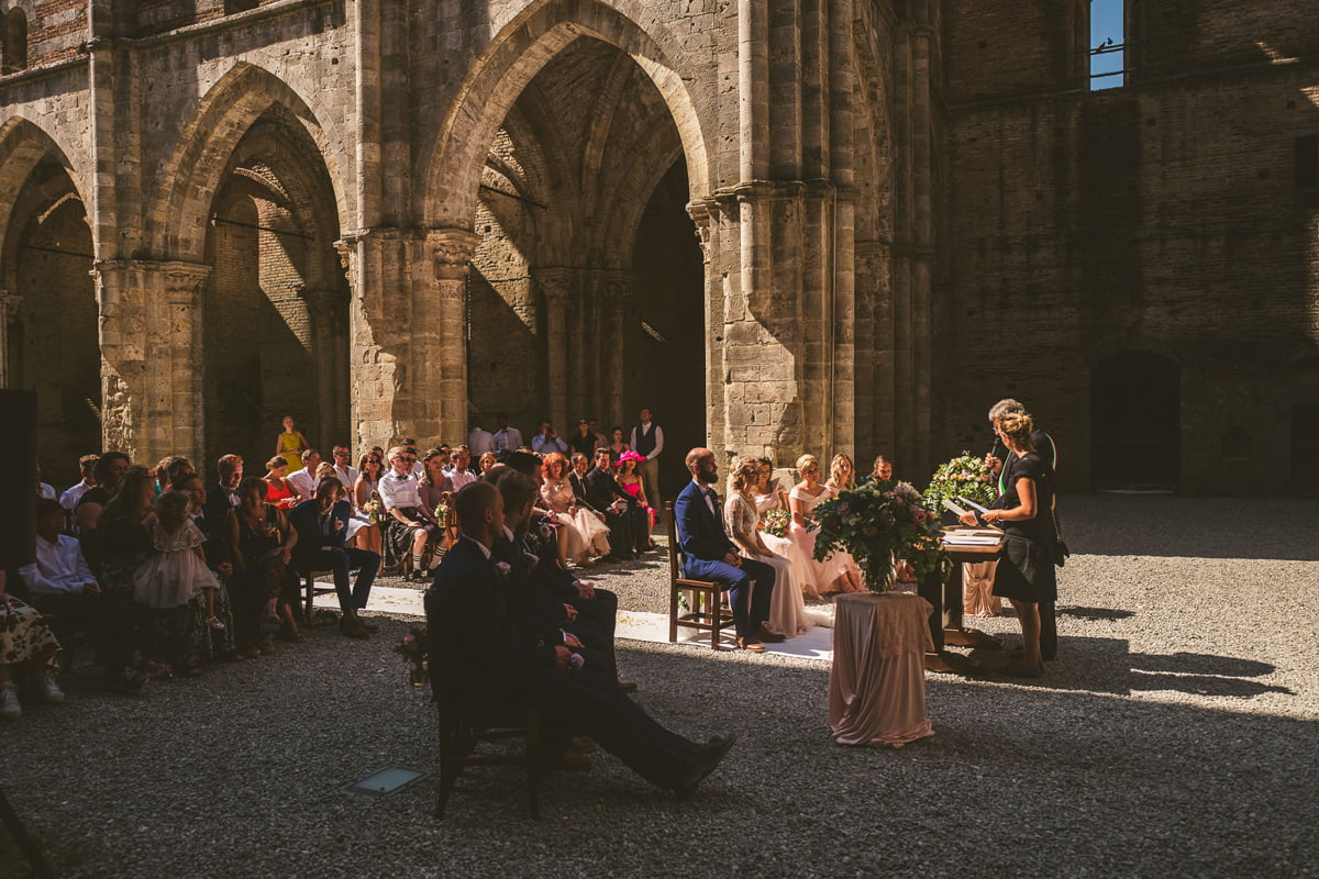 The Scottish Wedding in San Galgano Abbey - Federico Pannacci 39