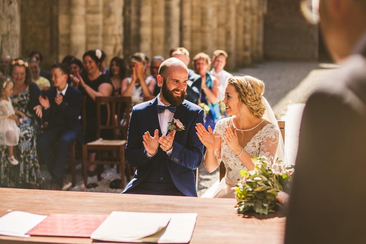 The Scottish Wedding in San Galgano Abbey - Federico Pannacci 40