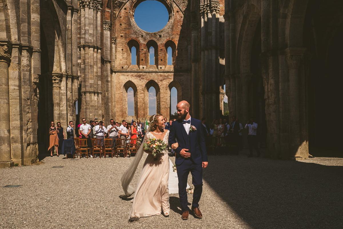 The Scottish Wedding in San Galgano Abbey - Federico Pannacci 41