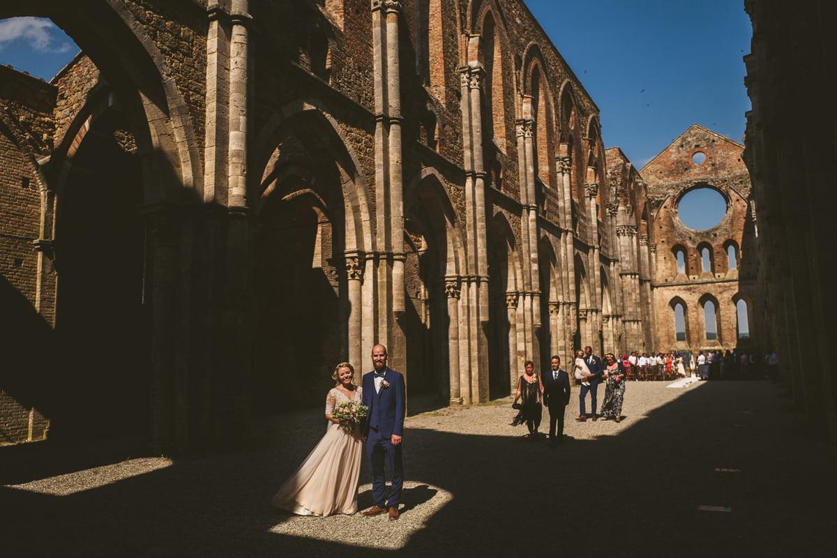 The Scottish Wedding in San Galgano Abbey - Federico Pannacci 42
