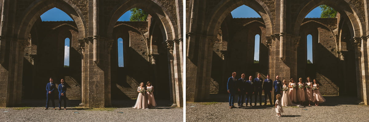 The Scottish Wedding in San Galgano Abbey - Federico Pannacci 43