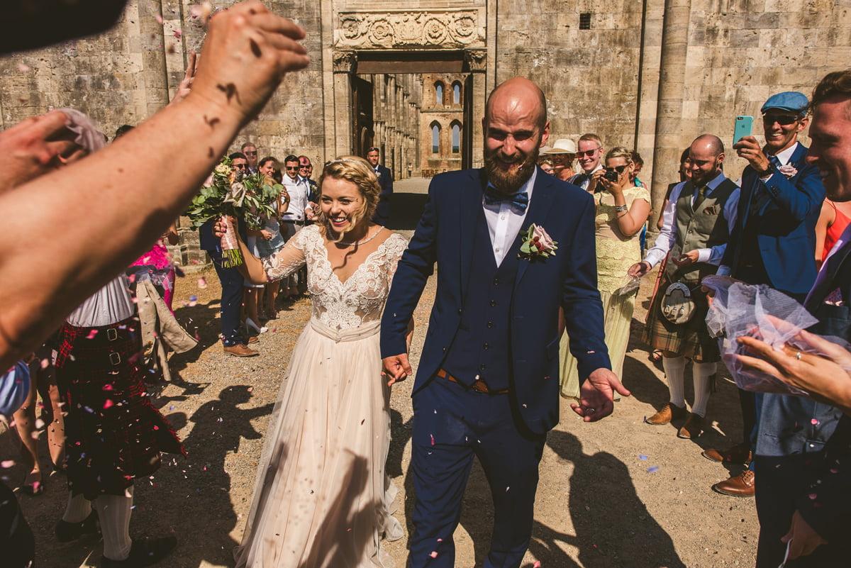 The Scottish Wedding in San Galgano Abbey - Federico Pannacci 44