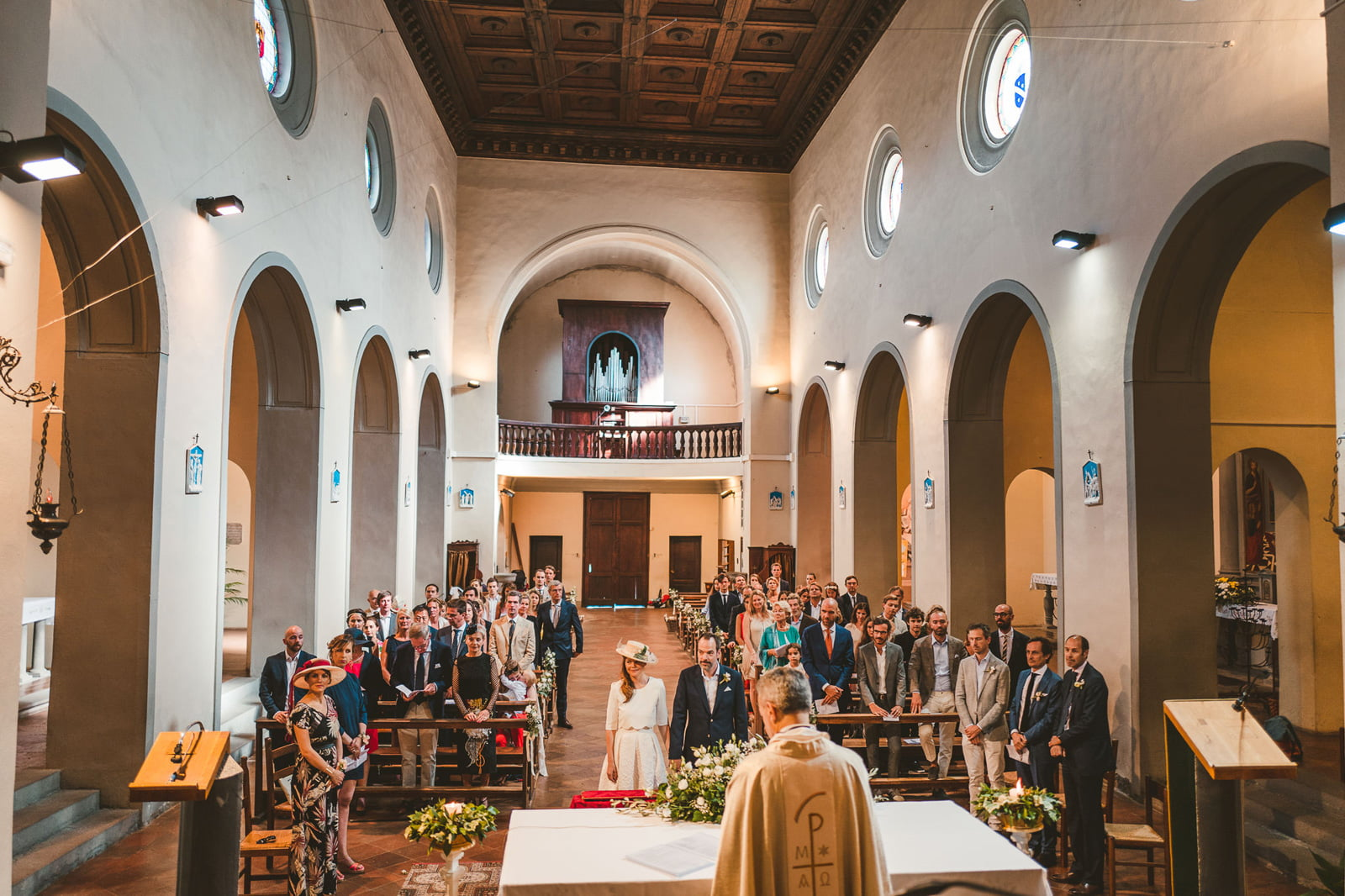 Lovely Wedding in Villa at Rignana by Federico Pannacci Wedding Photographer 34