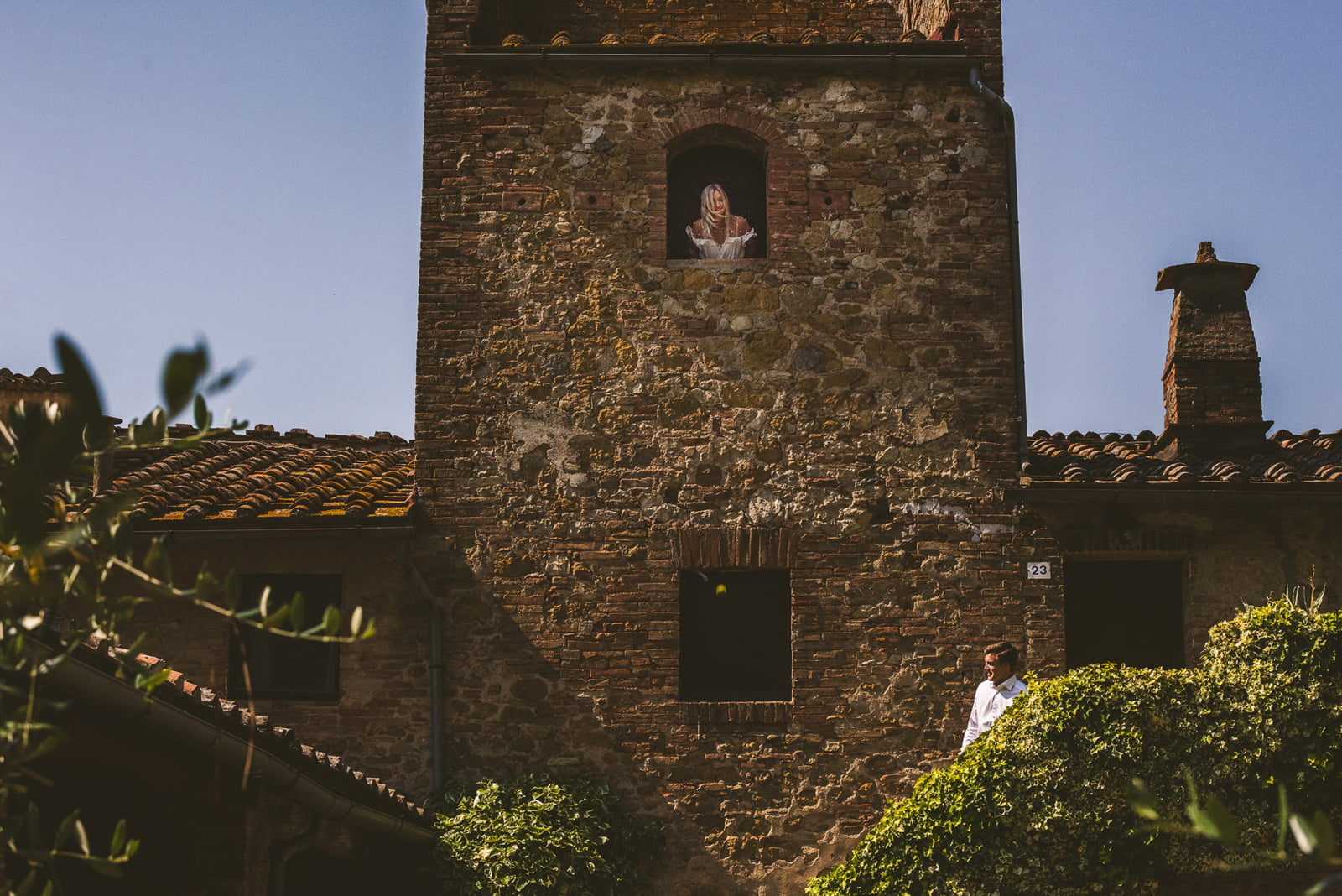 A+L Wedding at Montechiaro, Siena by Federico Pannacci 26