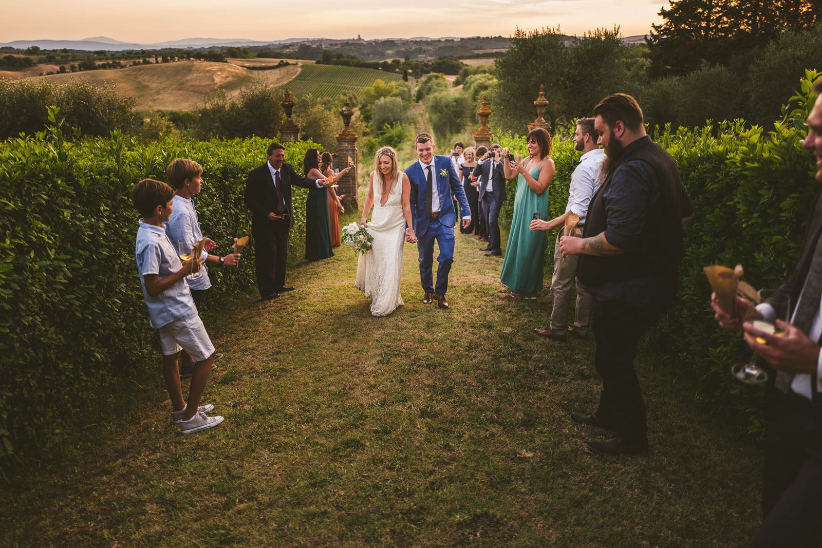 A+L Wedding at Montechiaro, Siena by Federico Pannacci 94