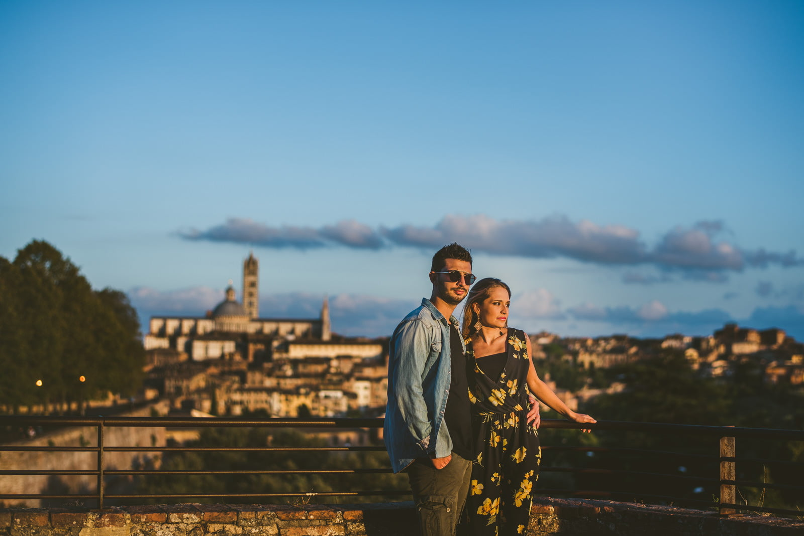 Engagement, Engagement and Couple's Portrait in Siena by Federico Pannacci Wedding Photographer, Federico Pannacci
