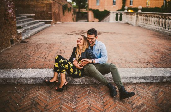 Engagement and Couple's Portrait in Siena by Federico Pannacci Wedding Photographer 8