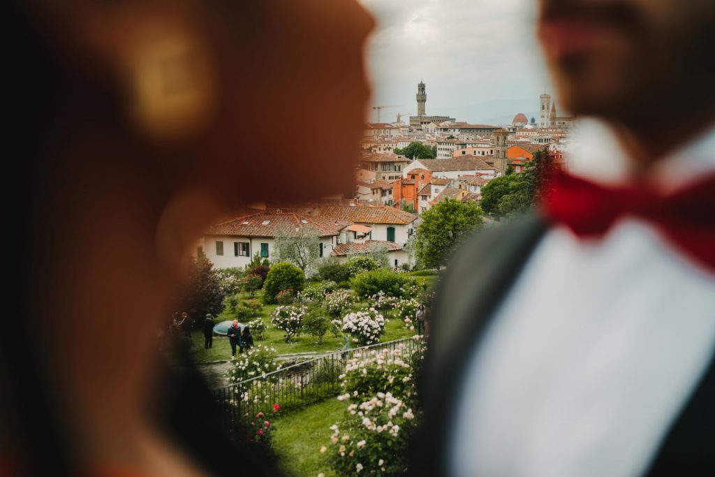 Engagement in Florence, Engagement in Florence at The Rose Garden, Federico Pannacci
