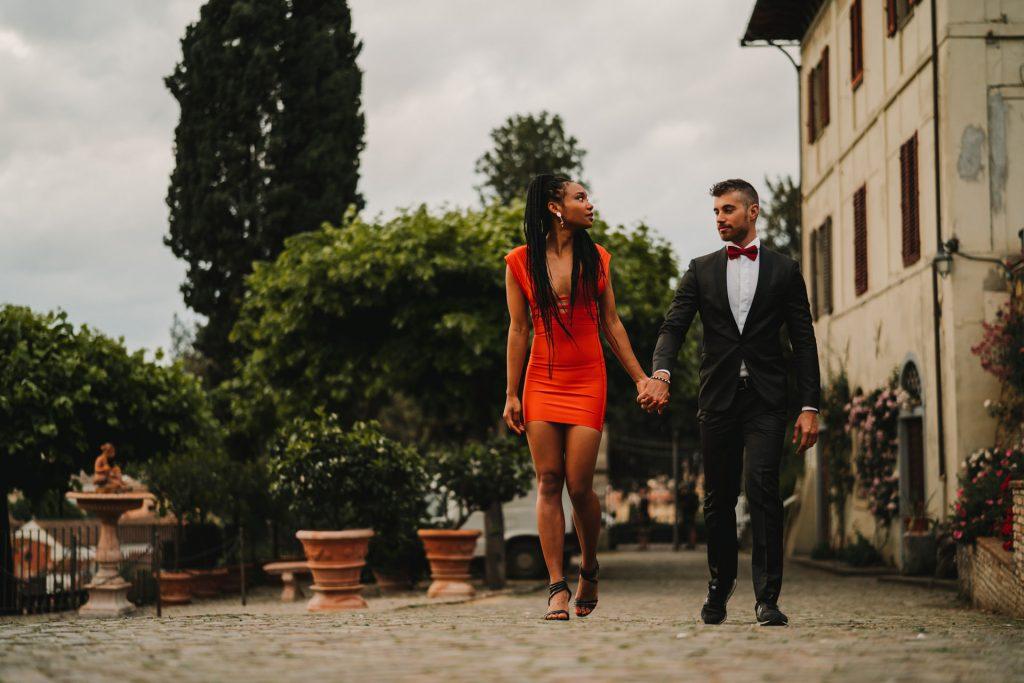 Engagement in Florence, Engagement in Florence at The Rose Garden, Federico Pannacci, Federico Pannacci