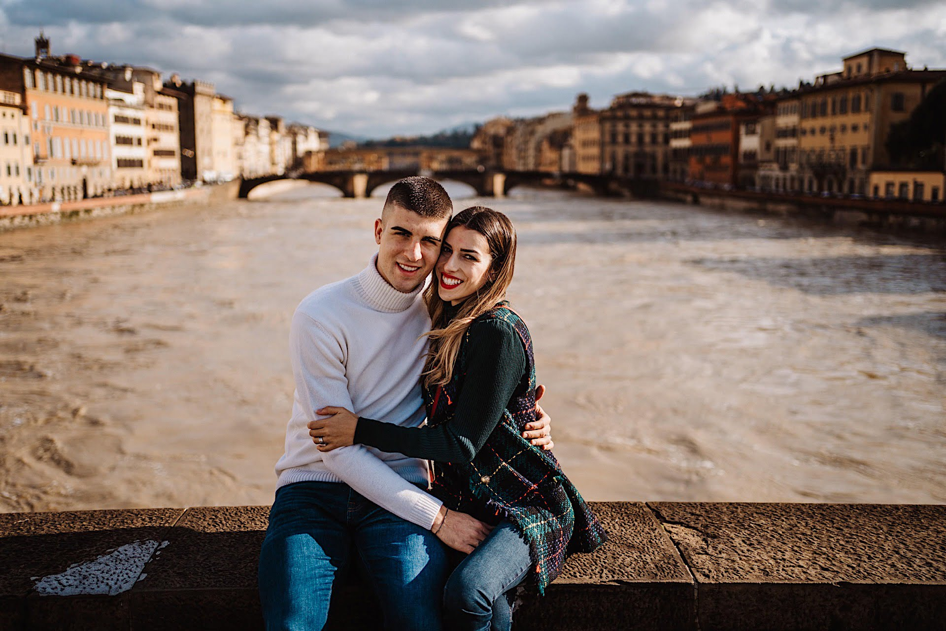 Destination Wedding Photographer in Tuscany, Gianluca And Elisa, Winter Wedding in Florence by Federico Pannacci Wedding Photographer, Federico Pannacci