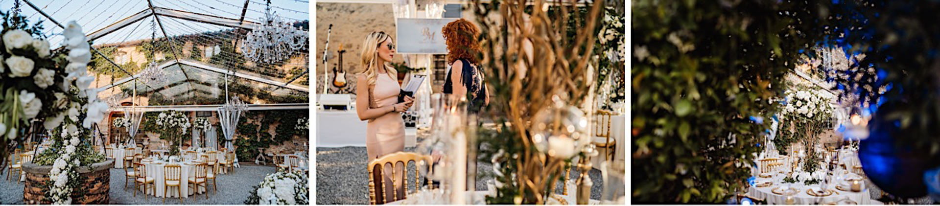 Luxury Events, Roberta and Manuel With Silvia Slitti Luxury Events by Federico Pannacci